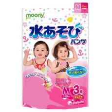 Трусики Moony Disney (Japan) для купания М 7-10кг, для девочки 3шт, фото 1