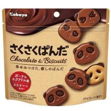 Kabaya Печенье Мишки в шоколаде, 47гр, фото 1